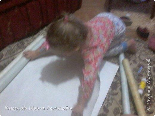 Здравствуйте, Жители СМ))) Вот такую работу мы сделали с моей дочкой (ей 2 года и 9 мес).  Мы такую серьезную работу делали в первый раз. И мой взгляд мне кажется мы справились с задачей)))  фото 18