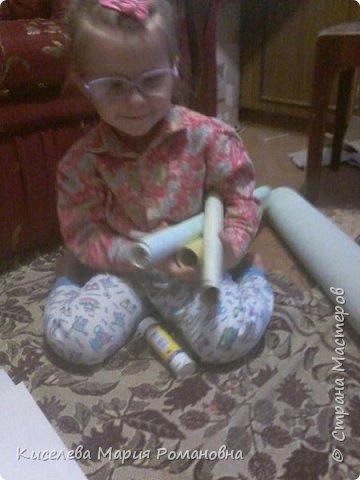 Здравствуйте, Жители СМ))) Вот такую работу мы сделали с моей дочкой (ей 2 года и 9 мес).  Мы такую серьезную работу делали в первый раз. И мой взгляд мне кажется мы справились с задачей)))  фото 19