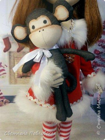 Мила со своей обезьянкой готова к Новому году!!! А вы? фото 3
