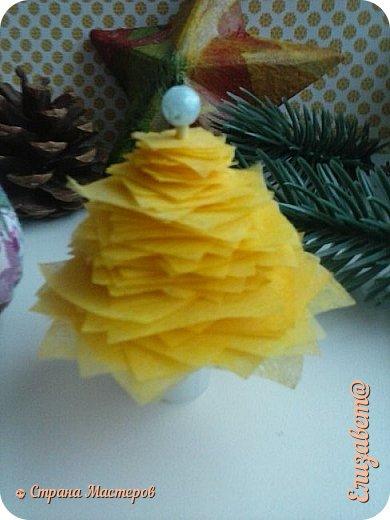 """Доброво времени суток жители СМ ! Я выкроила минутку свободного времени и выкладываю блог о новогоднем декоре 1 свеча """"мандаринка"""" воск залит в кожутку от мандаринки фото 2"""