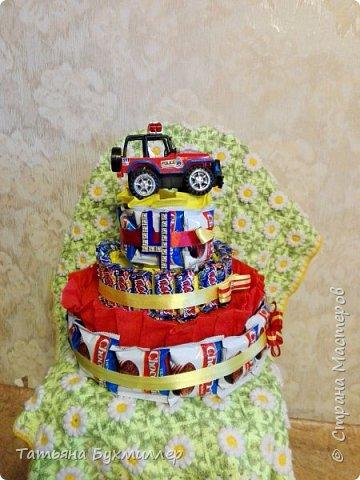 Сегодня у моего старшего сына др, вот такой тортик сотворился по этому поводу))) фото 1