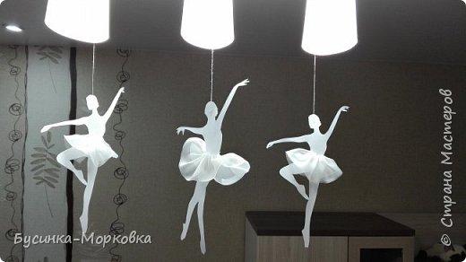 Балеринки-снежинки  фото 1