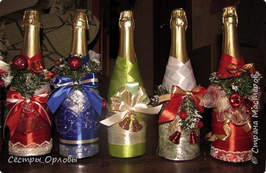 Новогодние бутылки фото 7