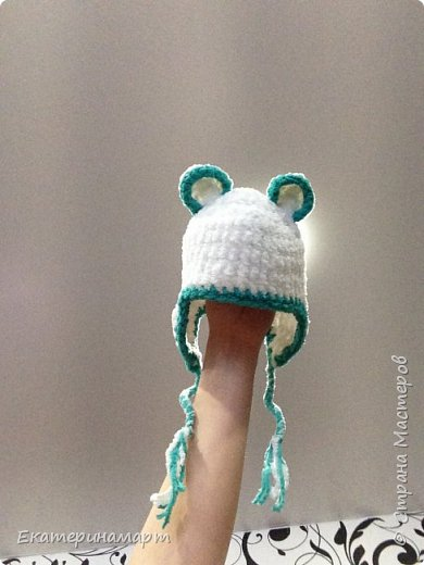 Шапульки для внучка в подарок =) фото 5