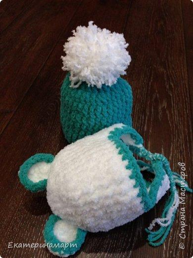 Шапульки для внучка в подарок =) фото 2