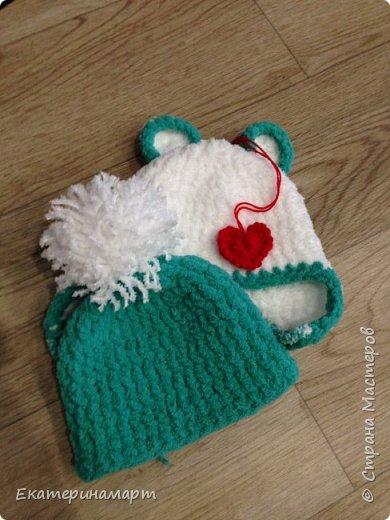 Шапульки для внучка в подарок =) фото 3