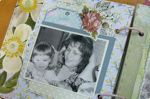 """Моей старшенькой внучечке исполнилось 10... Взрослая уже!!! По этому случаю я ей сделал альбомчик с напутствиями от бабушки """"Не бойся"""". Идея не моя, где-то встретила на просторах интернета...американская по-моему... ну  а я ее переделала под себя... фото 4"""