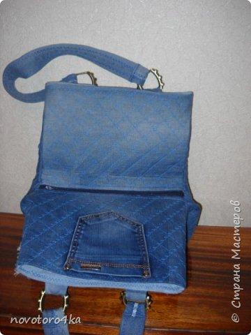 сумка из джинсов фото 2