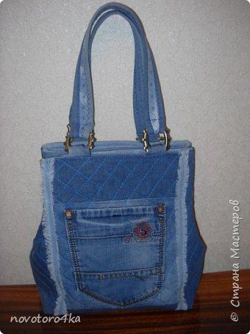 сумка из джинсов фото 1