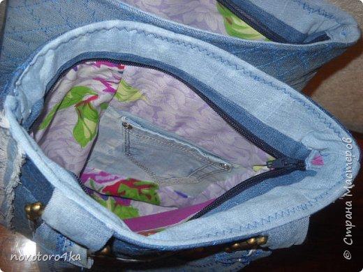 сумка из джинсов фото 3