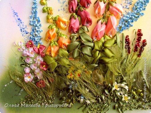 Доброго времени суток  страна мастеров! К нам в Краснодар приезжала замечательная вышивальщица Лариса Тороп  и провела МК .Она с удовольствием поделилась с нами свои мастерством. Вот, что у меня получилось. фото 4