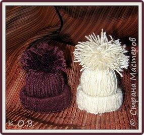 Мои шапочки на елку (идея из ИНЕТа)