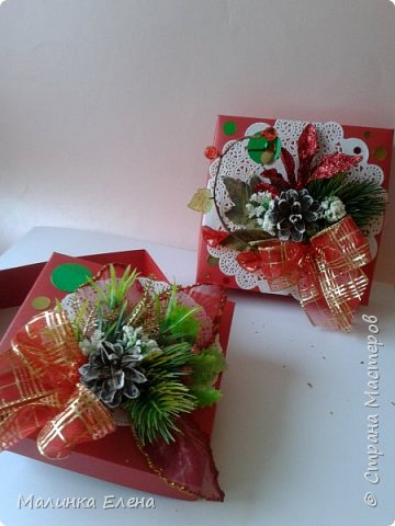 Подарочные коробки фото 8