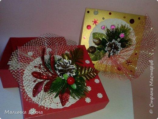 Подарочные коробки фото 7