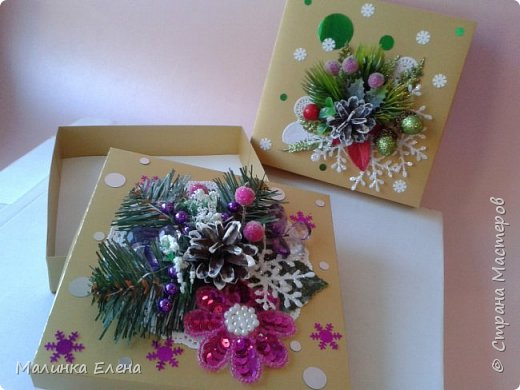 Подарочные коробки фото 5