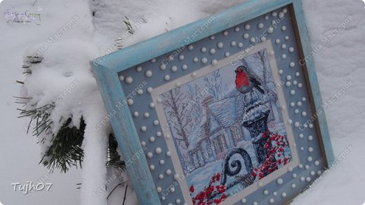 Ах, какое чудо!!! Ах, какая красота!!! Так я могу сегодня сказать, т. к. с утра, выглянув в окно, дождались мы зимы!!! С вечера и всю ночь порошил снежок, безветренно, морозно... Началось волшебство и вот-вот начнет свой рассказ новогодняя сказка...  фото 1