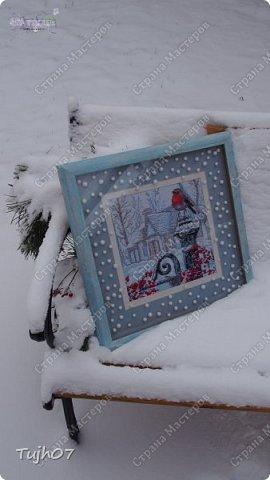 Ах, какое чудо!!! Ах, какая красота!!! Так я могу сегодня сказать, т. к. с утра, выглянув в окно, дождались мы зимы!!! С вечера и всю ночь порошил снежок, безветренно, морозно... Началось волшебство и вот-вот начнет свой рассказ новогодняя сказка...  фото 12