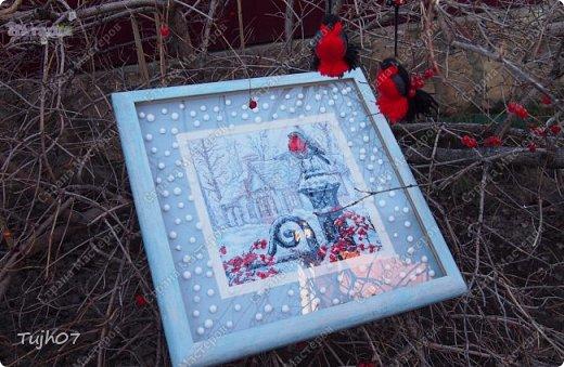 Ах, какое чудо!!! Ах, какая красота!!! Так я могу сегодня сказать, т. к. с утра, выглянув в окно, дождались мы зимы!!! С вечера и всю ночь порошил снежок, безветренно, морозно... Началось волшебство и вот-вот начнет свой рассказ новогодняя сказка...  фото 2