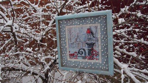 Ах, какое чудо!!! Ах, какая красота!!! Так я могу сегодня сказать, т. к. с утра, выглянув в окно, дождались мы зимы!!! С вечера и всю ночь порошил снежок, безветренно, морозно... Началось волшебство и вот-вот начнет свой рассказ новогодняя сказка...  фото 9