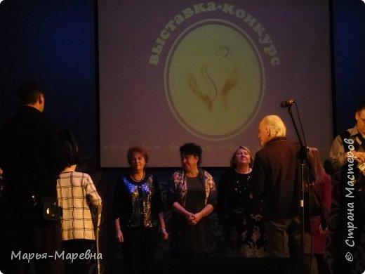 """Здравствуйте дорогие мои соседи и гости Страны Мастеров! Спешу поделится результатом моего участия в выставке-конкурсе""""Восславим женщину!Чудо рук женских"""" проходившем в нашем городе с 27 ноября по 18 декабря, по инициативе Городского Совета женщин, посвященная празднованию Дня Матери. В этом году такая выставка проводилась в 4-й раз. В ней приняли участие 205 конкурсанток в возрасте от 4 лет до 91 года. Было представлено около 900 работ по следующим номинациям: - Изобразительное искусство -Декоративно-прикладное искусство -Бисероплетение -Рукоделие: -в технике вышивка бисером, вышивка крестом,вышивка лентами,вязание,машинная вышивка,ковроткачество,скрапбукинг, резьба по камню, художественная обработка ткани. В каждой номинации жюри определило победителей. Я оказалась в их числе! Нас отметили Дипломами Победителя и сертификатом 1000 рублей на покупку товаров в фирменной сети """"Форне"""" Очень приятно!!! фото 2"""