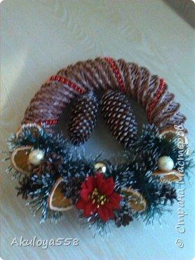 Венки рождественские. фото 1