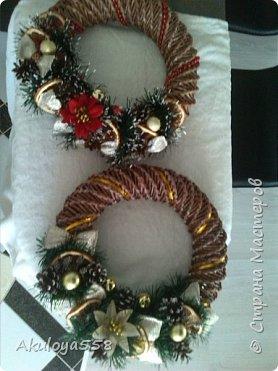 Венки рождественские. фото 7