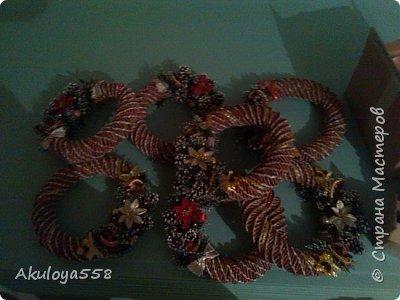 Венки рождественские. фото 8
