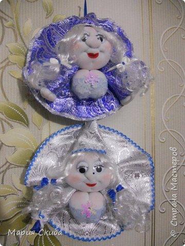 Вот такие у меня получились Снегурочки. фото 2
