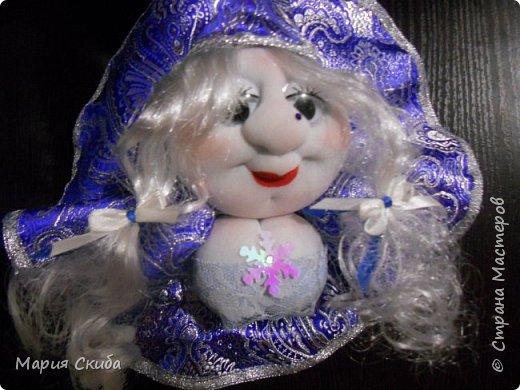 Вот такие у меня получились Снегурочки. фото 1