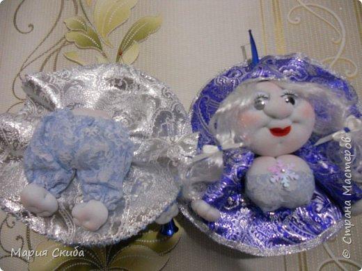 Вот такие у меня получились Снегурочки. фото 3