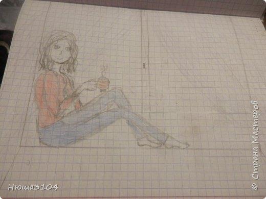 я часто рисую в школе ,дома вобьшем везде . вот рисунки которые я нарисовала в школе .  это я рисовала на музыке .  фото 1