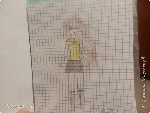 я часто рисую в школе ,дома вобьшем везде . вот рисунки которые я нарисовала в школе .  это я рисовала на музыке .  фото 6