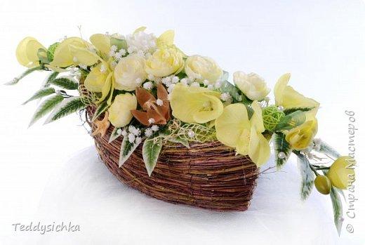 Флористические композиции фото 6