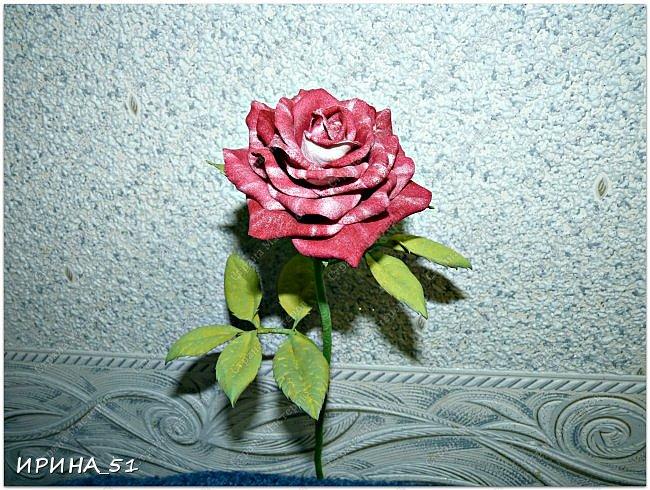 Здравствуйте! Всем очень рада! На сегодня у меня несколько работ. Начну с самой объемной, это букет роз.  фото 24