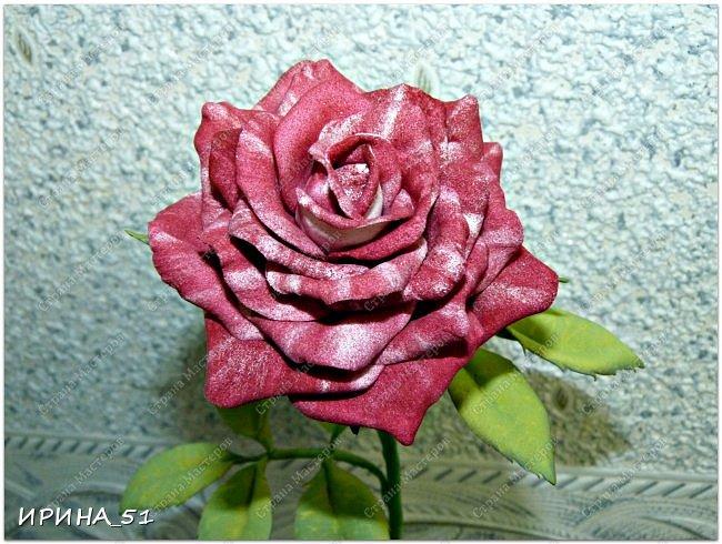 Здравствуйте! Всем очень рада! На сегодня у меня несколько работ. Начну с самой объемной, это букет роз.  фото 23