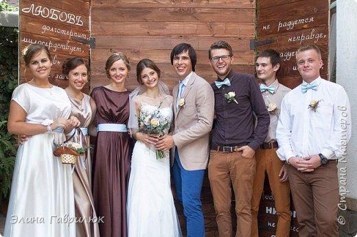 Хотя свадебные фото еще не готовы, но уже совсем не терпится поделиться всеми нашими вытворяшками.Наша фотозона, где мы фотографировались со всеми гостями. Пока только с нашими мордахами. фото 1