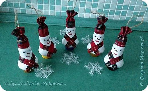 Снеговички готовы к встрече Нового года... фото 1