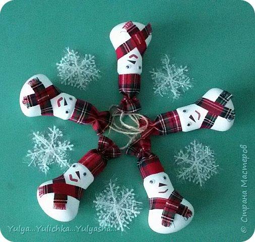 Снеговички готовы к встрече Нового года... фото 2