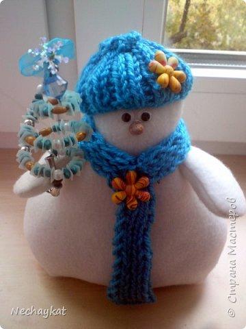 Снеговик))) фото 1