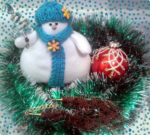 Снеговик))) фото 2