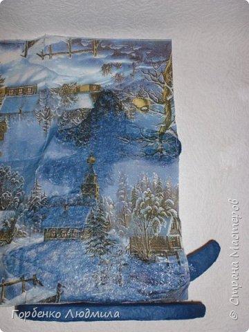 Бонсай топиарий ёлка Мастер-класс Новый год Рождество Декупаж Моделирование конструирование Папье-маше Ёлка-подвеска для новогоднего шара Картон Краска Салфетки фото 22
