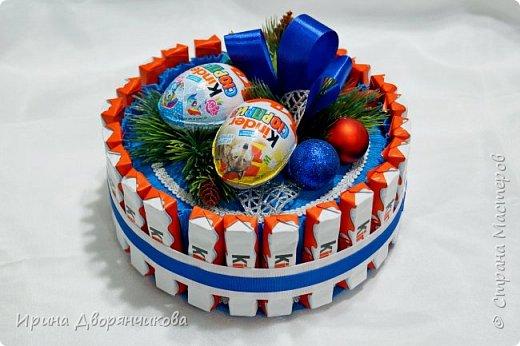 конфетные тортики фото 1