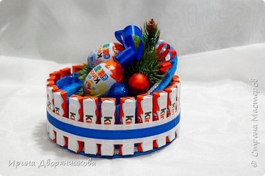 конфетные тортики фото 2