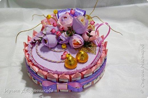 конфетные тортики фото 3