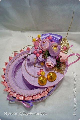 конфетные тортики фото 5