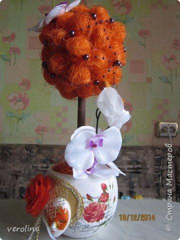 Вот такой подарочек на ДР любимой маме! Она очень любит орхидеи, выращивает их дома. Теперь будет вечноцветущая)))