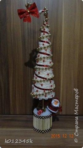 я не знаю, есть ли кто в МИРЕ, кто наворотил в этом году елок. больше чем я, с минимальным набором материалов старалась сделать разные. Часть 1-я https://stranamasterov.ru/node/970756 фото 15