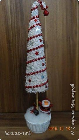 я не знаю, есть ли кто в МИРЕ, кто наворотил в этом году елок. больше чем я, с минимальным набором материалов старалась сделать разные. Часть 1-я https://stranamasterov.ru/node/970756 фото 35