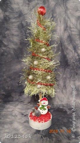я не знаю, есть ли кто в МИРЕ, кто наворотил в этом году елок. больше чем я, с минимальным набором материалов старалась сделать разные. Часть 1-я https://stranamasterov.ru/node/970756 фото 58