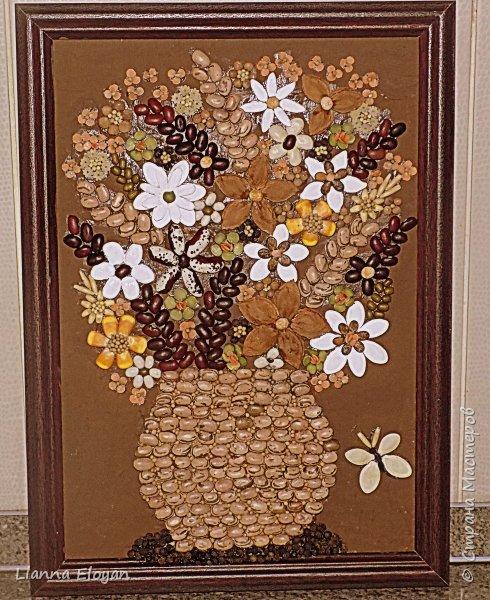картина из семян фото 2